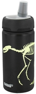 Sigg - Aluminum Water Bottle Active Top For Kids Dino Glow - 0.4 Liter
