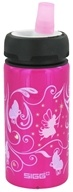 Image of Sigg - Aluminum Water Bottle Active Top For Kids Fairies & Butterflies - 0.4 Liter