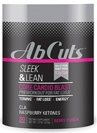 Image of Revolution - Corr Jensen Labs Abdominal Cuts Sleek & Lean Core Cardio Blast Berry Punch 30 Servings - 7.9 oz.