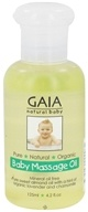 Image of Gaia Skin Naturals - Gaia Natural Baby Massage Oil - 4.2 oz.