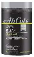 Revolution - Corr Jensen Labs Abdominal Cuts Sleek & Lean CLA Shake Dark Chocolate - 1.1 lbs.
