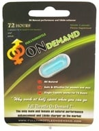 Full Throttle On Demand - Male/Female All Natural Performance Enhancer - 1 Capsule