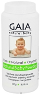 Gaia Skin Naturals - Gaia Natural Baby Powder - 3.5 oz. - $6.99