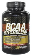 Image of Top Secret Nutrition - BCAA Hyperblend Anabolic Branched Chain Formula - 120 Capsules