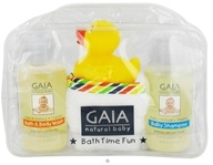 Gaia Skin Naturals - Gaia Natural Baby Bath Time Fun