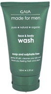Gaia Skin Naturals - Gaia Made For Men Face & Body Wash - 5.3 oz.