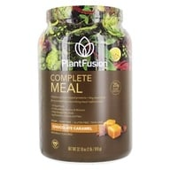 PlantFusion - Phood 100% Plant-Based Whole Food Meal Shake Chocolate Caramel - 2.4 lbs. (890985001617)