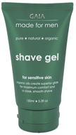 Gaia Skin Naturals - Gaia Made For Men Shave Gel - 5.3 oz. (9332059001051)
