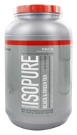 Nature's Best - Isopure Protein Powder Black & Green Tea Peach - 3 lbs.