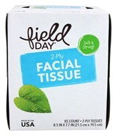 Image of Field Day - Facial Tissue 100% Recycled - 85 Count