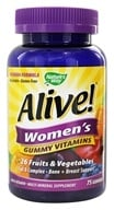 Image of Nature's Way - Alive Women's Gummy Vitamins - 75 Gummies