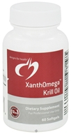 Image of Designs For Health - XanthOmega Krill Oil - 60 Softgels