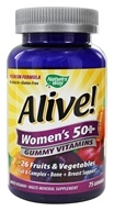 Nature's Way - Alive Women's 50+ Gummy Vitamins - 75 Gummies, from category: Vitamins & Minerals