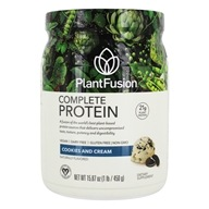 Image of PlantFusion - Nature's Most Complete Plant Protein Cookies N' Creme - 1 lb.