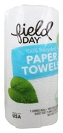 Field Day - Paper Towels 100% Recycled 2-Ply 120 Custom Size Sheets - 1 Jumbo Roll