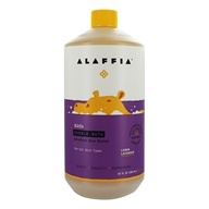 Alaffia - Everyday Shea Moisturizing Shea Butter Bubble Bath Calming Lemon-Lavender - 32 oz.