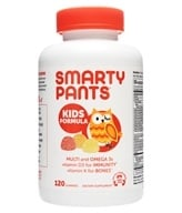 Image of SmartyPants - All-in-One Multivitamin + Omega 3 + Vitamin D For Kids - 120 Gummies