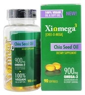 XiOmega - Chia Seed Oil - 90 Softgels