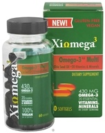 XiOmega - Omega-3 Multi - 60 Softgels, from category: Nutritional Supplements