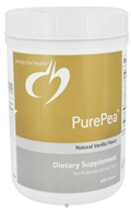 Image of Designs For Health - PurePea Natural Vanilla Flavor - 450 Grams