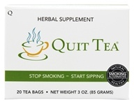 Quit Tea - Herbal Stop Smoking Aid - 20 Tea Bags (736211537683)