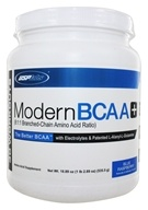 USP Labs - Modern BCAA+ Ultra Micronized Amino Acid Supplement Blue Raspberry - 18.89 oz. (094922423597)