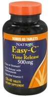 Natrol - Easy-C Time Release 500 mg. - 180 Tablets