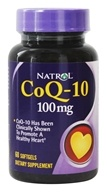 Image of Natrol - CoQ-10 100 mg. - 60 Softgels