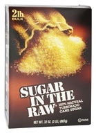 In The Raw - Sugar In The Raw Natural Cane Turbinado Sugar From Hawaii - 2 lbs. - $5.49