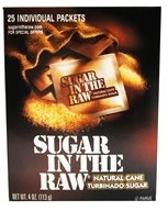 In The Raw - Sugar In The Raw Natural Cane Turbinado Sugar From Hawaii - 25 Packet(s) (044800001447)