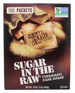 In The Raw - Sugar In The Raw Natural Cane Turbinado Sugar From Hawaii - 100 Packet(s) by In The Raw
