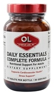 Olympian Labs - Daily Essentials Complete Formula - 30 Tablets, from category: Vitamins & Minerals
