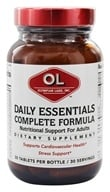 Olympian Labs - Daily Essentials Complete Formula - 30 Tablets - $16.12