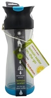 Image of Full Circle - Lemon Water On-the-Go Glass Bottle Blueberry - 20 oz.