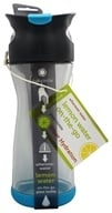 Full Circle - Lemon Water On-the-Go Glass Bottle Blueberry - 20 oz.