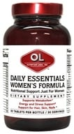 Olympian Labs - Daily Essentials Women's Formula - 30 Tablets - $15.96
