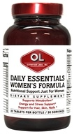Olympian Labs - Daily Essentials Women's Formula - 30 Tablets by Olympian Labs