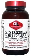 Olympian Labs - Daily Essentials Men's Formula - 30 Tablets by Olympian Labs