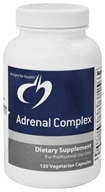 Designs For Health - Adrenal Complex - 120 Vegetarian Capsules