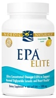 Nordic Naturals - EPA Elite Lemon 1000 mg. - 60 Softgels (768990017544)