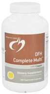 Designs For Health - DFH Complete Multi With Copper - 180 Capsules by Designs For Health