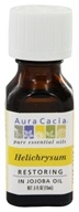 Aura Cacia - Pure Essential Oils Restoring Helichrysum - 0.5 oz., from category: Aromatherapy
