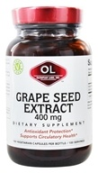 Olympian Labs - Grape Seed Extract 400 mg. - 100 Vegetarian Capsules - $25.94