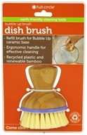 Image of Full Circle - Bubble Up Dish Brush Replacement Purple