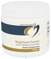 Designs For Health - MagCitrate Powder - 240 Grams (879452003231)