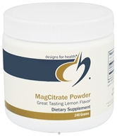 Designs For Health - MagCitrate Powder - 240 Grams