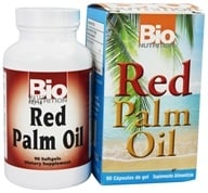 Bio Nutrition - Red Palm Oil - 90 Softgels - $12.99
