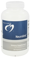 Designs For Health - Neurolink - 180 Vegetarian Capsules - $44