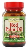 Only Natural - Red Palm Oil 1000 mg. - 60 Softgels
