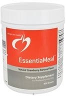 Image of Designs For Health - EssentiaMeal Natural Strawberry Banana Flavor - 450 Grams